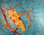 Collage Bird by Gabby