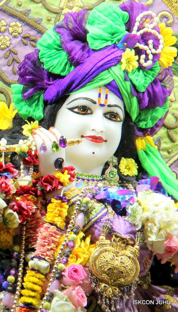 ISKCON Juhu Sringar Deity Darshan 11 Jan 2016  (14)