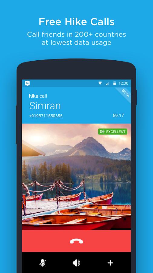 hike messenger- screenshot