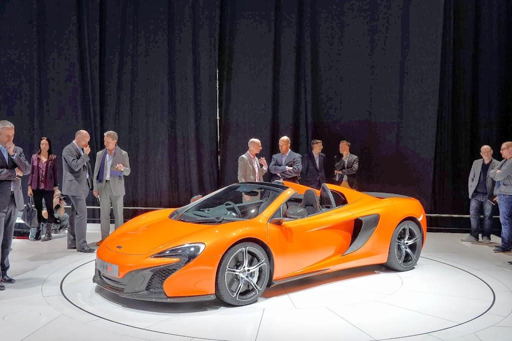 McLaren 650S Spider Geneva Motor Show 39
