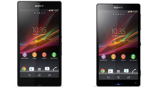 Sony Xperia Z and ZL Official Leaked Photos