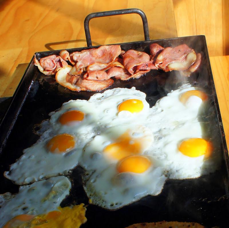Frühstück auf Wandertour? Yes! Cheer Bro