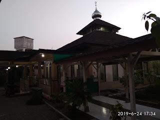 Masjid As-Syifa', Bersih dan nyaman di Komplek RSUD Tidar kota Magelang