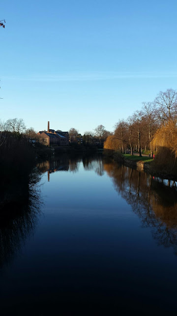 River Severn in Shrewsbury by Alice Draws The Line