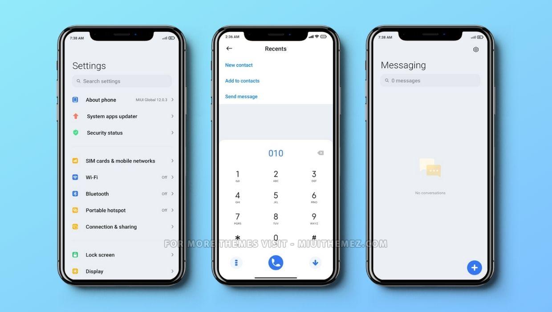 A14 Pro iOS Based MIUI Theme