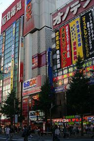 Electronics stores in Akihabara
