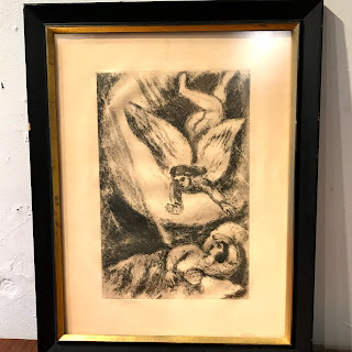 Marc Chagall 'In a Dream' Etching