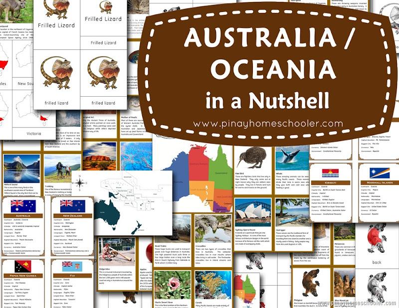 Australia/Oceania in a Nutshell