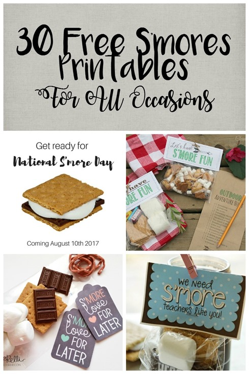 30 Free S'mores Printables For All Occasions
