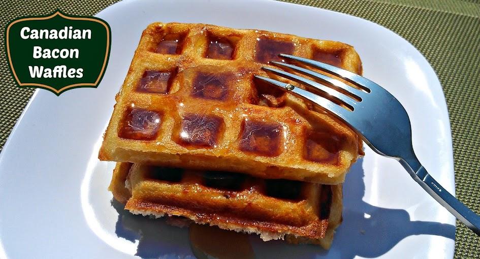 Waffle Recipes: Canadian Bacon Waffles
