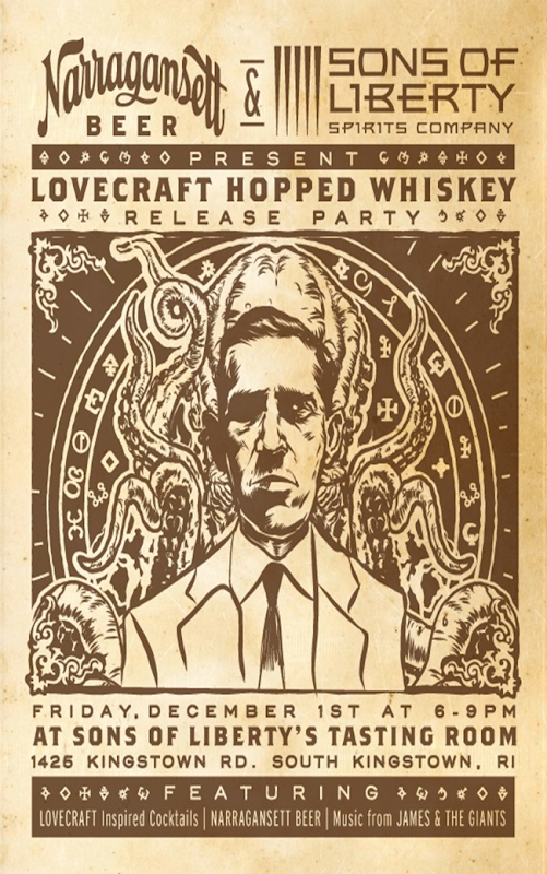 Narragansett Releasing Lovecraft Whiskey 12/1