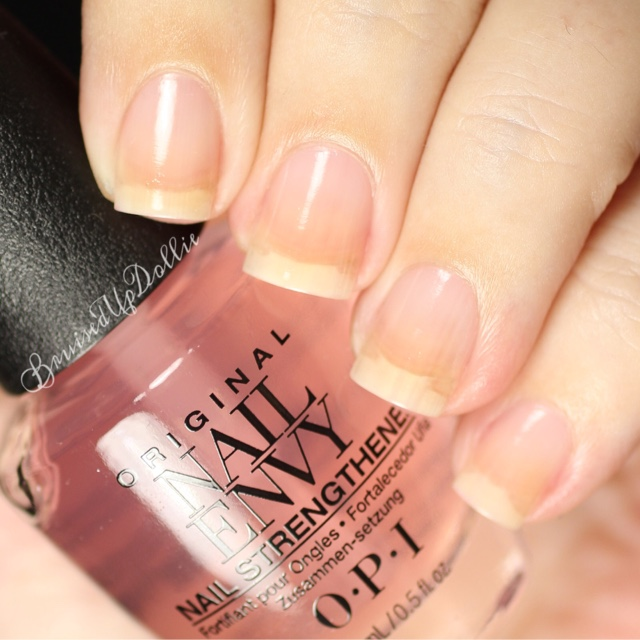 Attractive Opi Nail Envy Strength Color Bubble Bath Crest - Nail ...