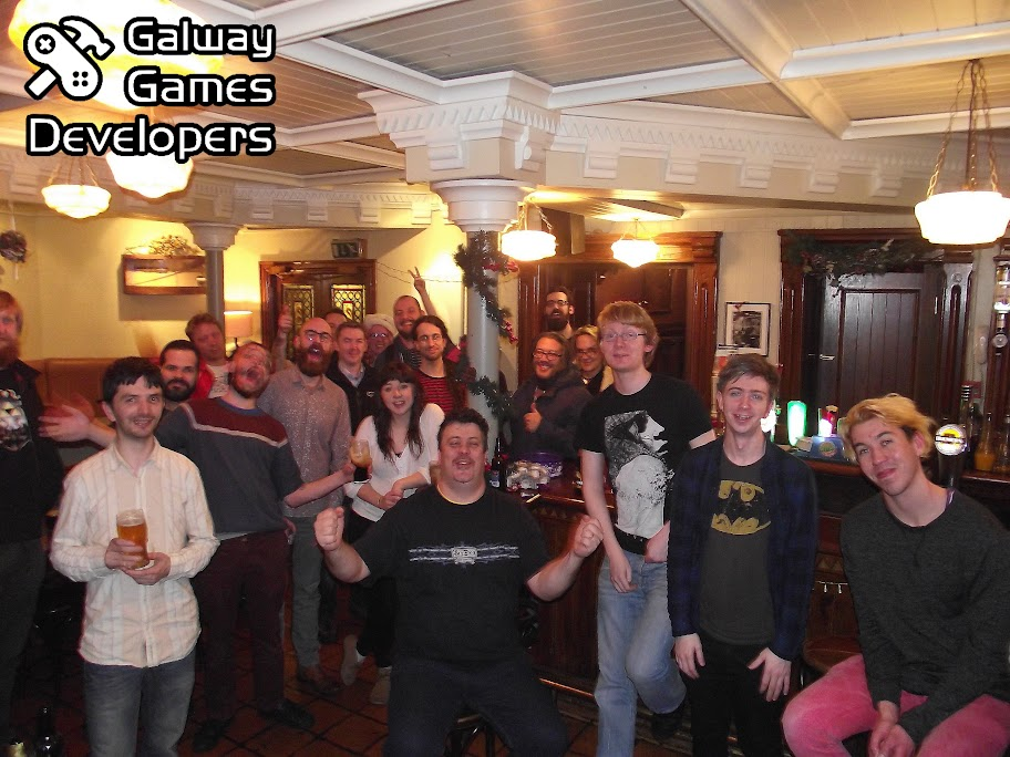 Galway Game Developers Group Photograph.