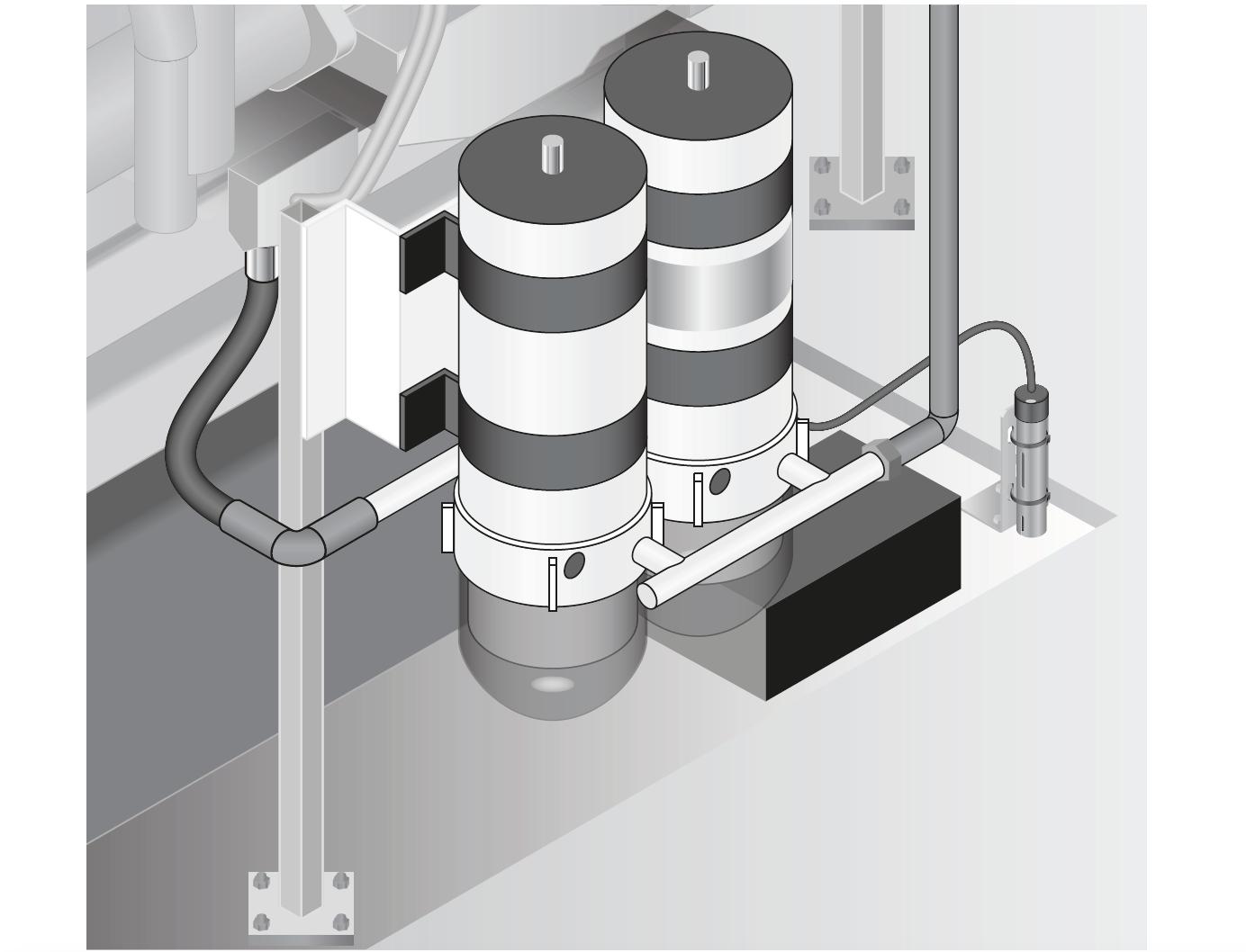 Detekcja wycieku paliwa z generatora, agregatu prądotwórczego