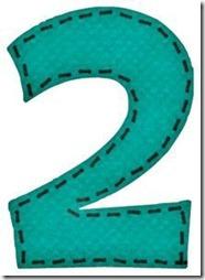 2 letras verdes