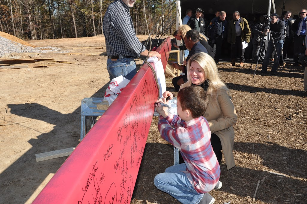 UACCH-Texarkana Creation Ceremony & Steel Signing - DSC_0237.JPG
