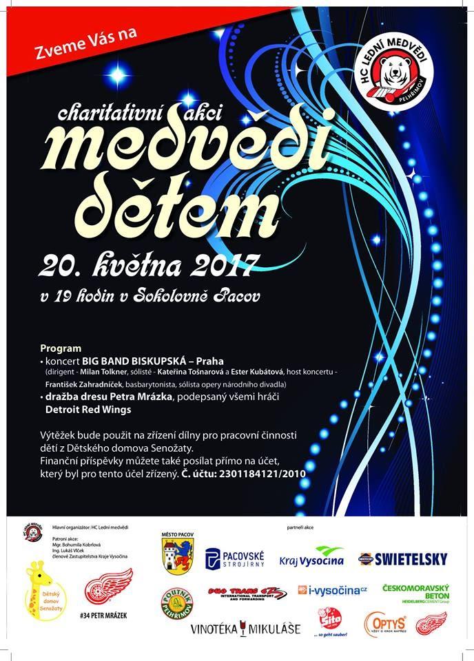 Plakát na koncert vPacově