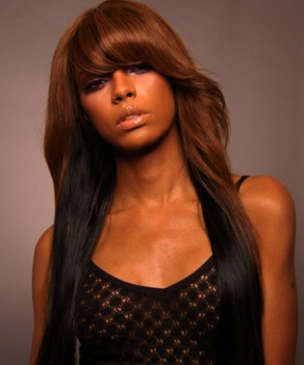 Fabulous Top Long Hairstyles For Black Women Fashion Qe Hairstyle Inspiration Daily Dogsangcom