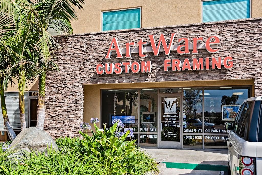 Frame Shop San Diego CA | Artware at 8274 Miramar Rd, San Diego, CA