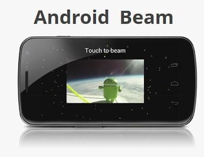 Ice Cream Sandwich Android Beam