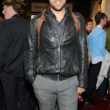 WWW.ENTSIMAGES.COM -    O T Fagbenle   arriving  at      The Scottsboro Boys - press night at Garrick Theatre, Charing Cross Road, London October 20th 2014Kander and Ebb's provocative musical about the true story of nine young black men falsely accused of raping two white women.                                                   Photo Mobis Photos/OIC 0203 174 1069