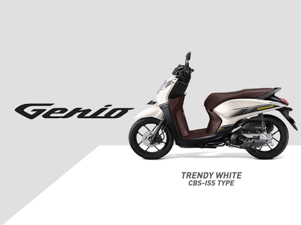 Honda Genio Motor Skutik Entry Level Termurah Besutan Honda Motor