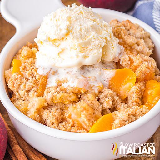 Peach Crisp (Air Fryer)