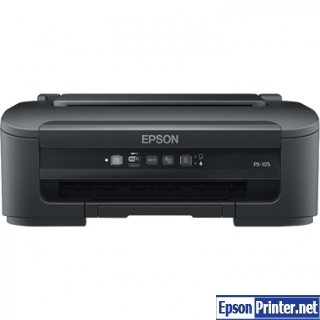 How to reset Epson PX-105 by tool