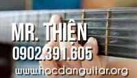 Học đàn guitar đệm hát cơ bản