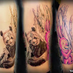 panda - tattoos for women