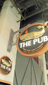The Pub in the shopping mall area by Monte Carlo- Food You Can't Forget, Drinks You Can't Remember