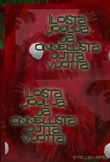 Joulu Final E00 © Yelling Rosa pienempi