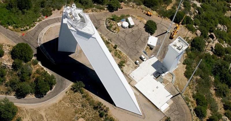 The Mcmath Pierce Solar Telescope Amusing Planet