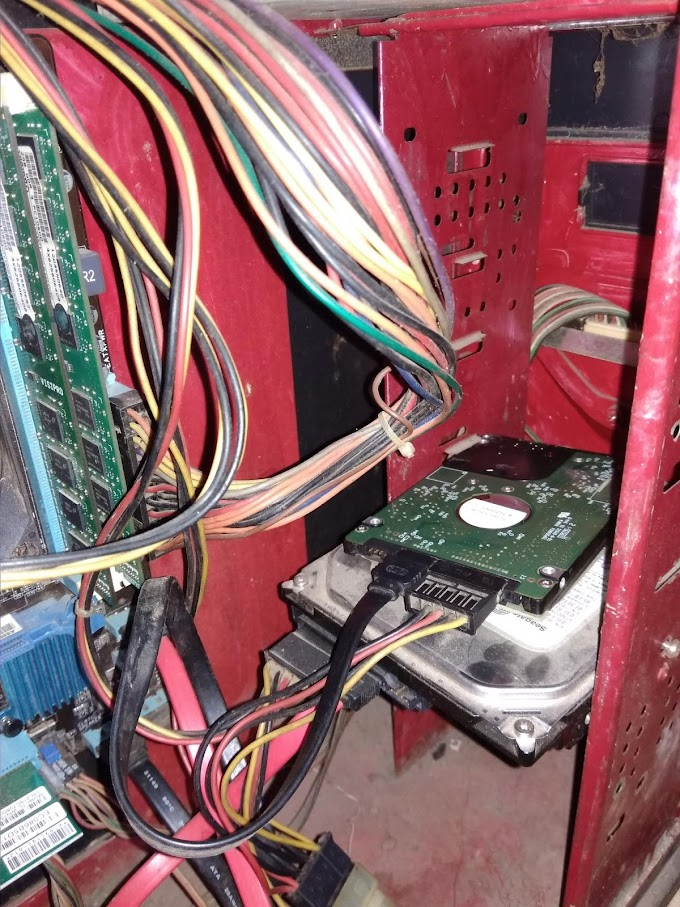 Tidak ada hard drive yang muncul di My Computer