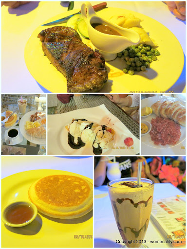 Food in Deep Forest Inn