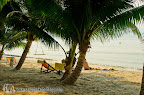 Beach in front of Koh Chang Paradise Resort & Spa