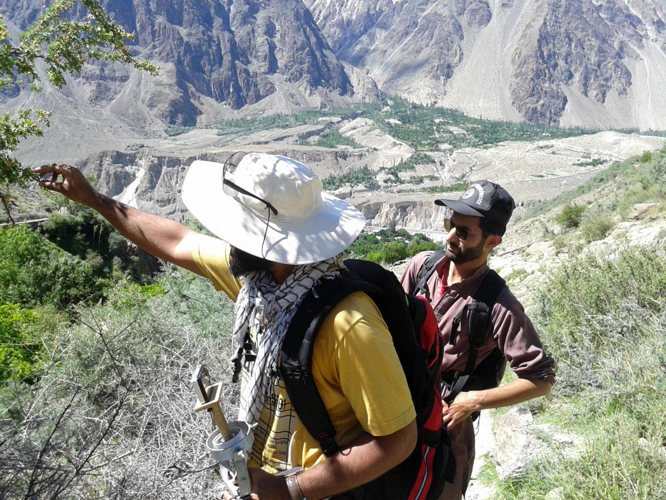 On the trek to Rakaposhi