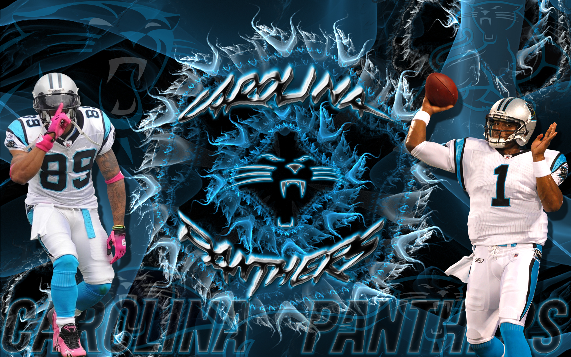 Wallpapers By Wicked Shadows: Carolina Panthers Steve