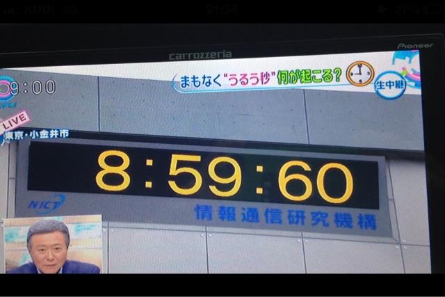 TOYOTA HOME MIE: 閏秒