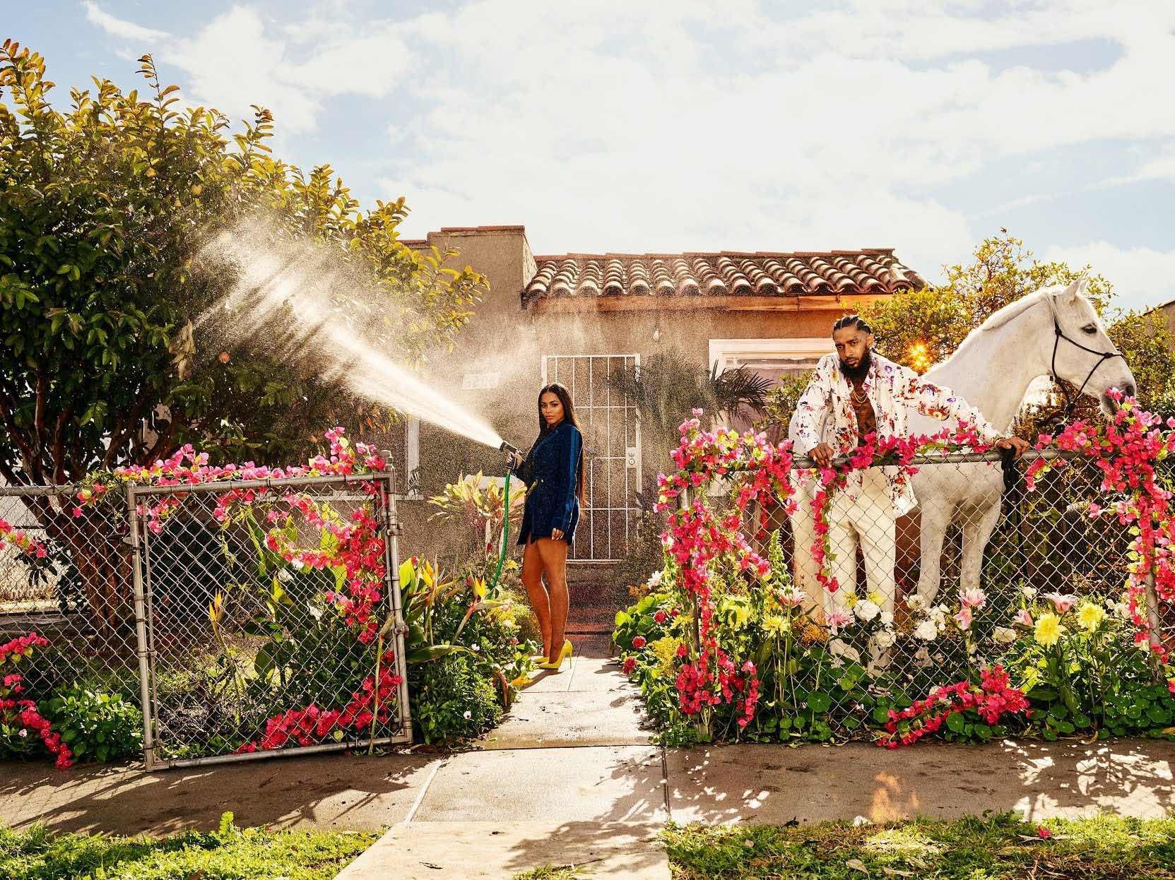 California Love : Nip and Lauren for GQ❤️