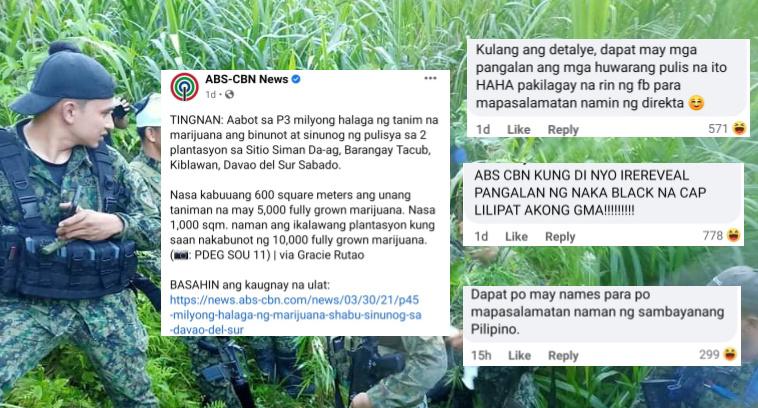 ABS-CBN News post, Viral na dahil sa gwapong sundalo!