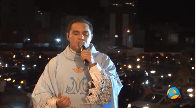 Missa 'driver-in' encerra o novenário da festa das Neves 2020 na capital paraibana
