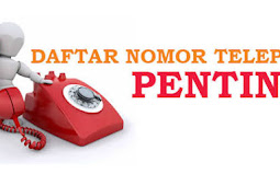 Info Nomor Telepon PENTING DKI JAKARTA dan Sekitarnya