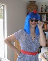 Francesca Grandis Blue Wig Fdg