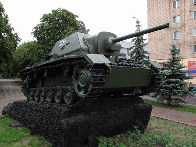 СУ-76И в Сарнах