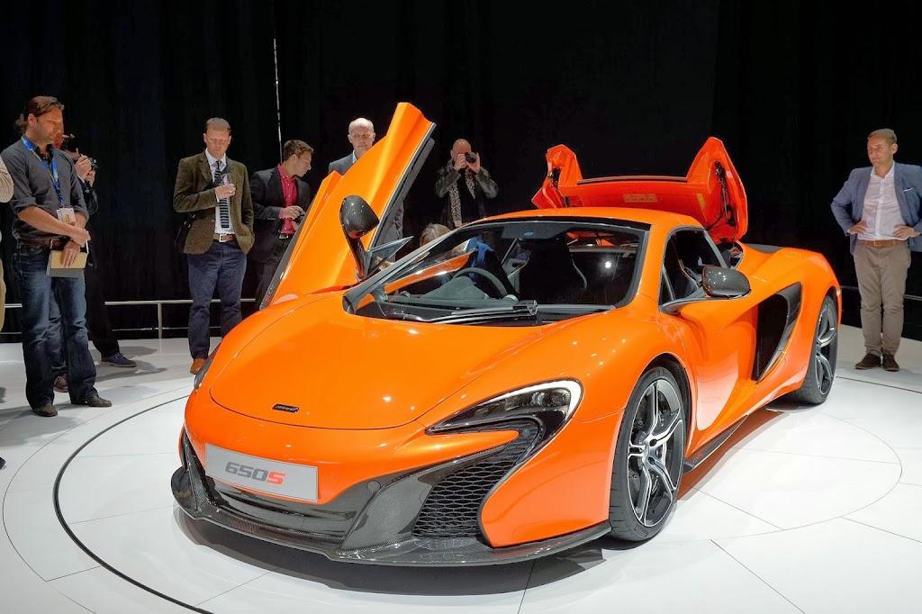 McLaren 650S Spider Geneva Motor Show 21