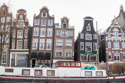 Amsterdam, Netherlands - leaning houses