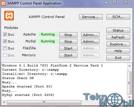 Xampp İndir v7.1.11