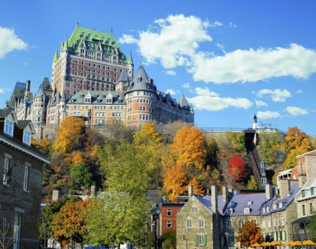 Fairmont Le Château Frontenac. From Quebec City: the Heart of Canada