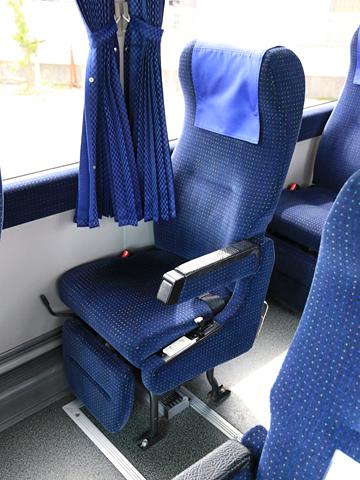 西武バス 新潟線 1209 シート